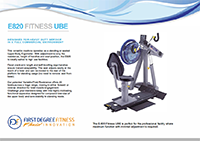 E820 FITNESS UBE BROCHURE