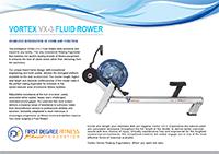 VX3 FLUID ROWER BROCHURE