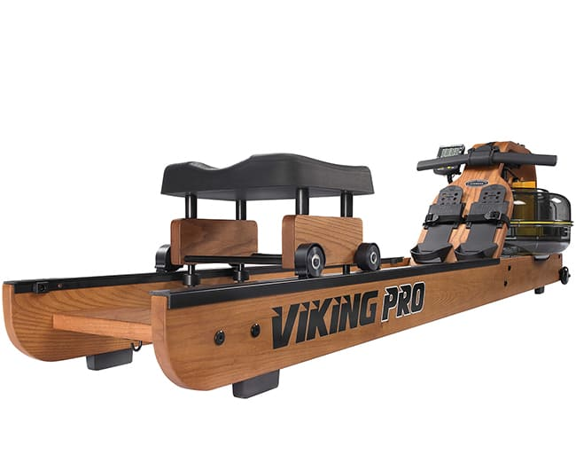 Viking Pro Indoor Rower Wooden Rower First Degree Fitness
